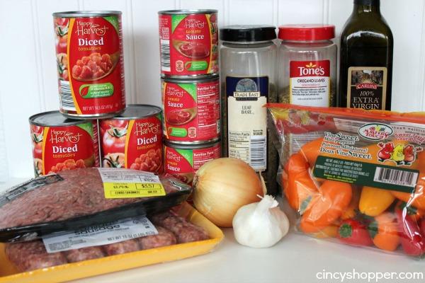 Slow Cooker Spaghetti Sauce Recipe 1