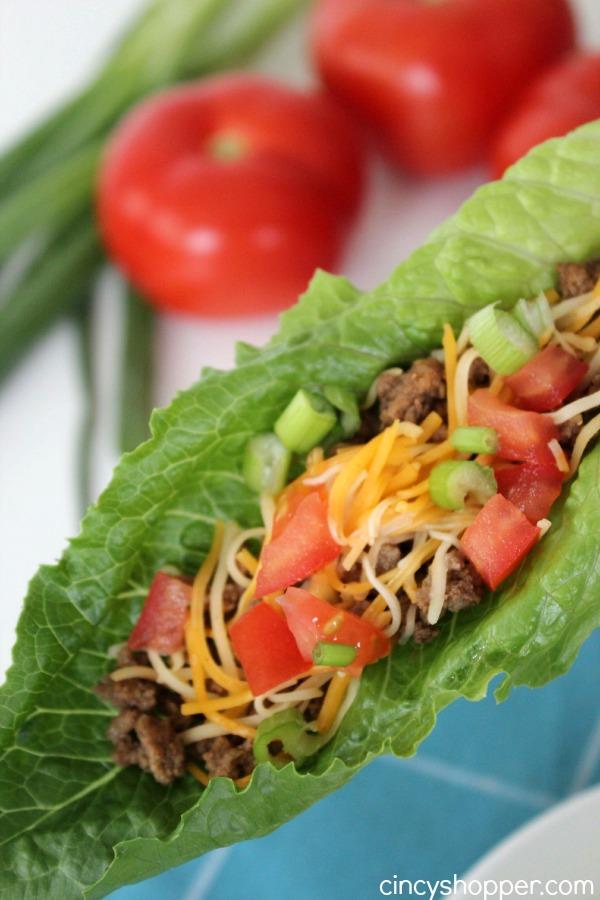 Taco Lettuce Wrap