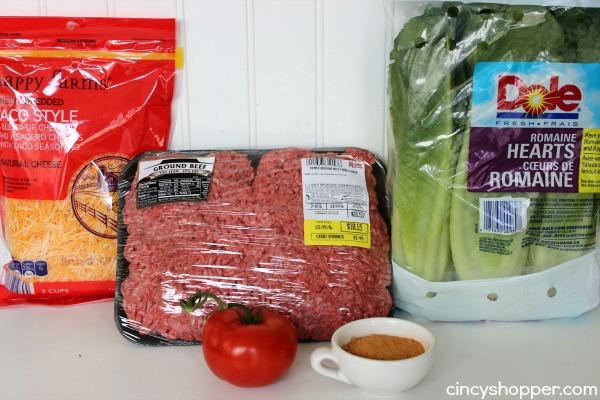 Taco Lettuce Wraps Recipe 1