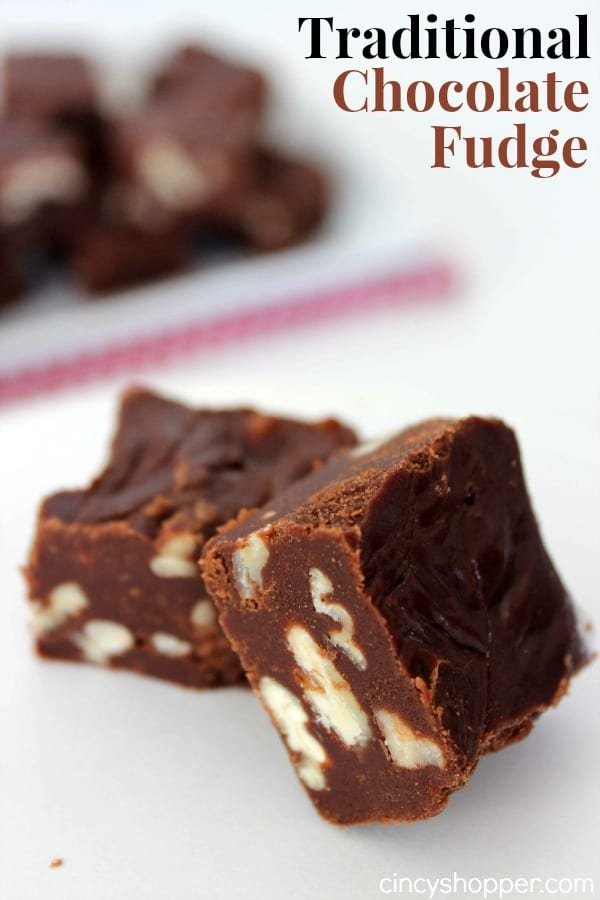 Traditional Chocolate Fudge Recipe