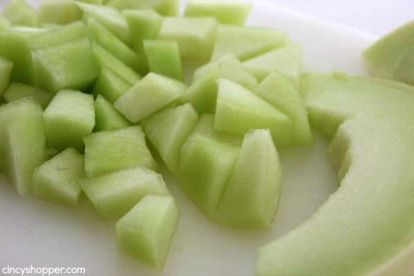Honeydew Cucumber Salad- Simple salad that is light and refreshing for your bbqs this summer.