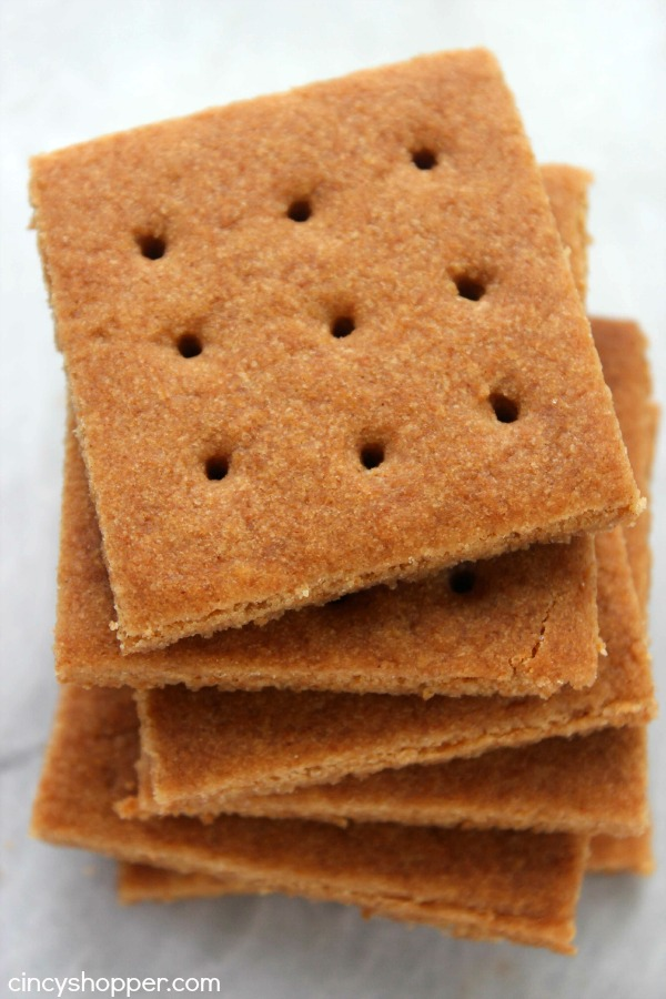Homemade Graham Crackers- Super simple and so much better than store bought. Enjoy them for a snack or even make homemade S'mores.