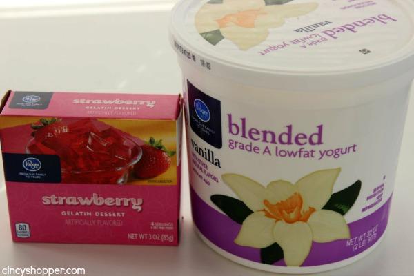 Strawberry Yogurt Freezer Cups- Just 2 Ingredients needed. Super refreshing and tasty dessert for summer.