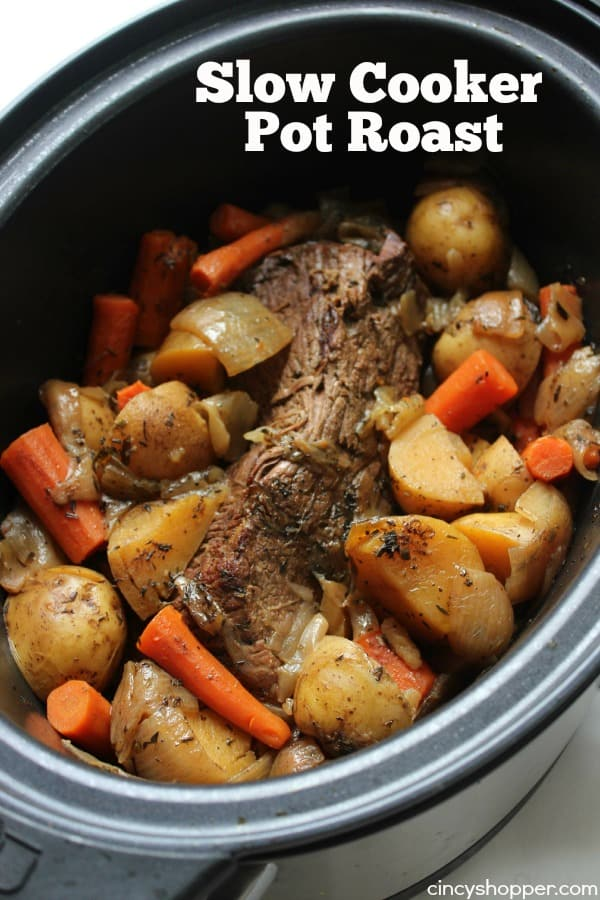 Slow Cooker Pot Roast 1