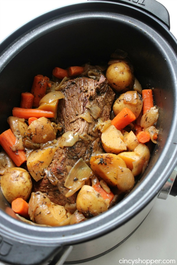 Image Result For How To Cook A Chuck Roast In A Slow Cooker