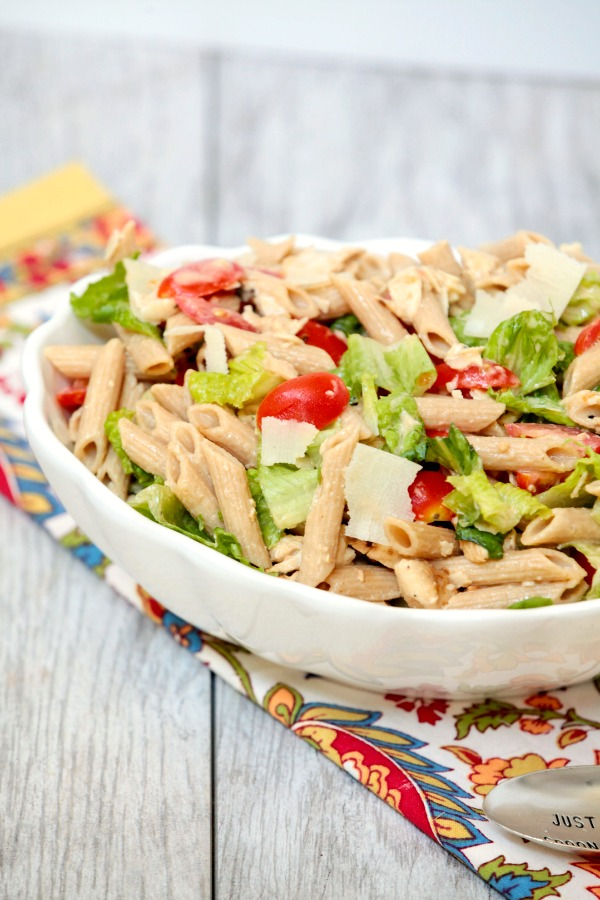 Caesar Pasta Salad Chicken