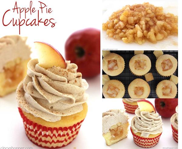 Apple Pie Cupcakes FB