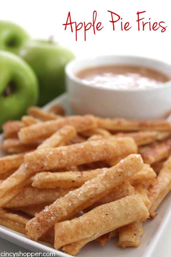 Apple Pie Fries 1