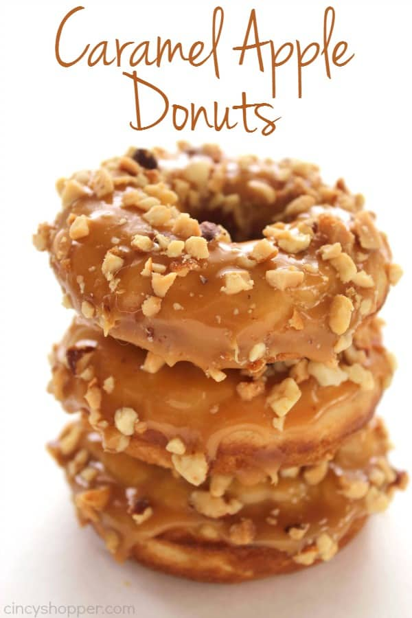 Caramel Apple Donuts 1