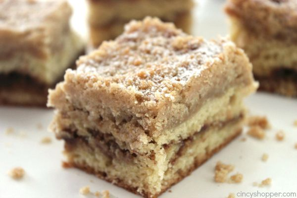 Homemade Coffee Cake -lots and lots of butter, this cake delivers. Perfect for you to enjoy with coffee or just to snack on.