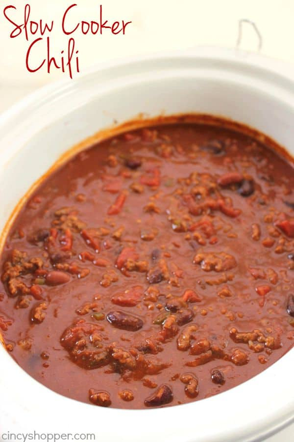 Slow Cooker Chili 1