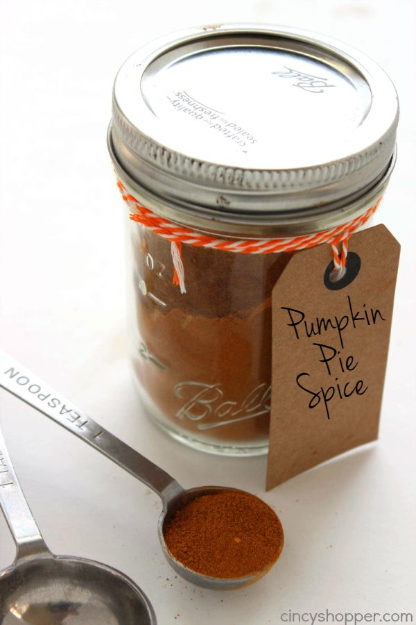 Homemade Pumpkin Pie Spice - Make this simple spice right at home with spices already found in your spice cabinet. Great for cupcakes, cookies, pies and more.