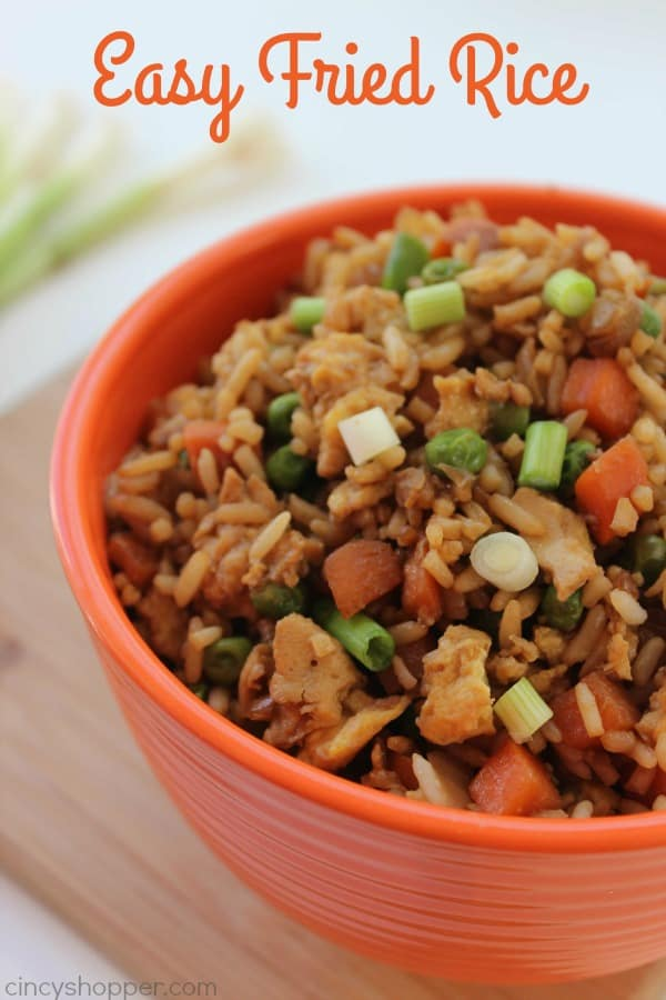 Easy Fried Rice 1