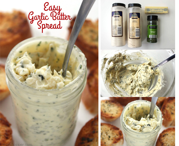 Easy Garlic Butter Spread FB