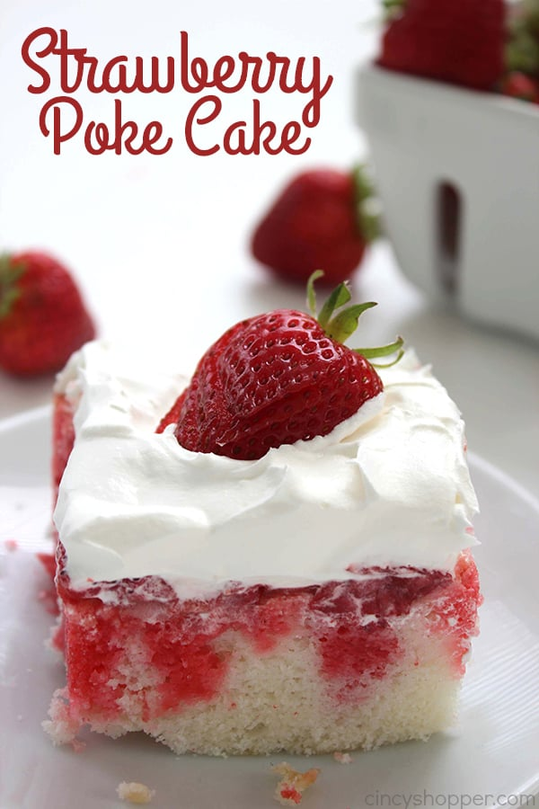 Strawberry Poke Cake 1