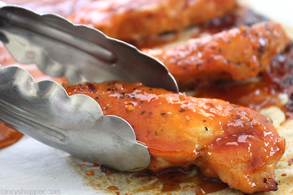 Red Hot Chicken - Perfect quick and easy chicken dinner idea. Some call it Firecracker Chicken, I call it yummy!