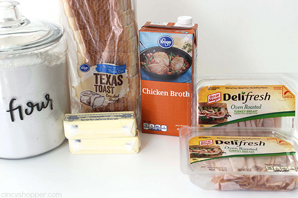 Easy Hot Turkey Sandwiches - We use store bought lunch meat to create a simple weeknight dinner that is sure to be a family favorite.