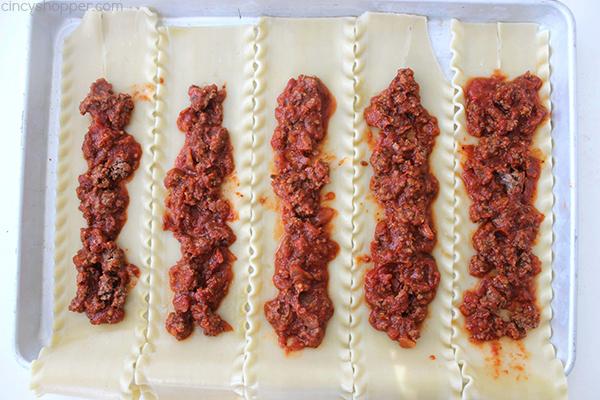 Lasagna Roll Ups 16