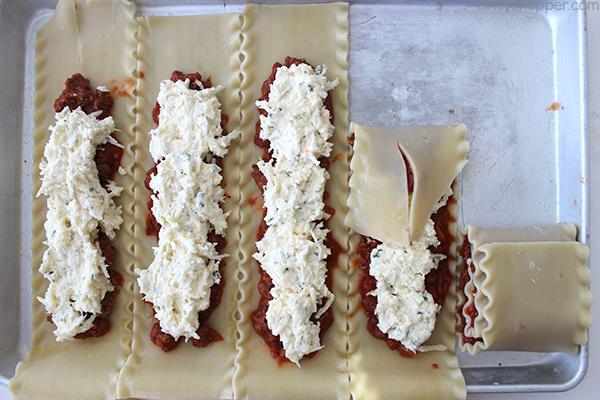 Lasagna Roll Ups 18