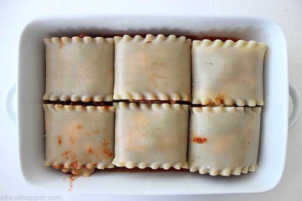 Lasagna Roll Ups 20