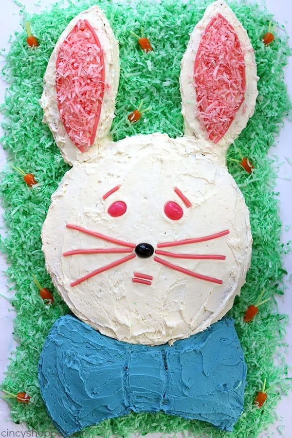 Easy Easter Bunny Cake Cincyshopper