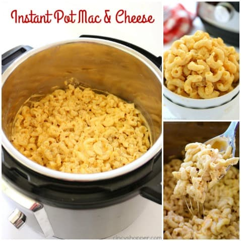 If you are needing to make a quick side dish, consider making this quick and easy Instant Pot Mac & Cheese. It's so simple and is cheesy enough to satisfy your families craving for comfort food!