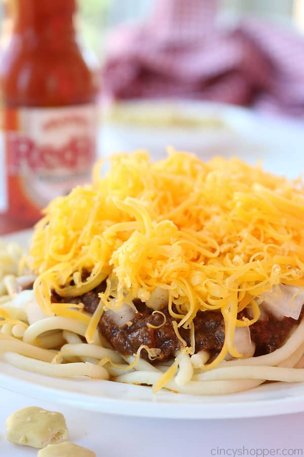 Homemade Cincinnati Chili - so easy to make! Serve it over spaghetti or even as a cheese coney.
