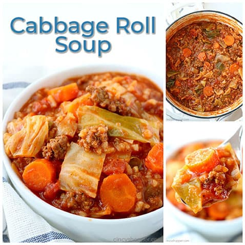 Easy Cabbage Roll Soup- just like traditional cabbage rolls without all that extra work.