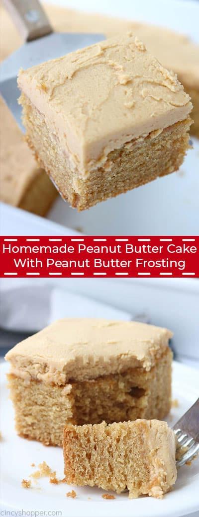 Long image of peanut butter cake