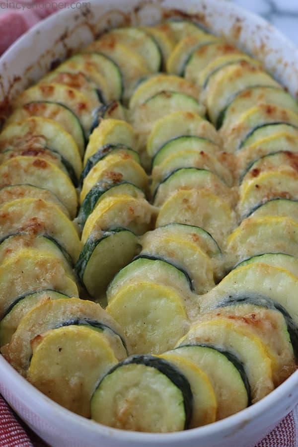 Baked Parmesan Zucchini Casserole