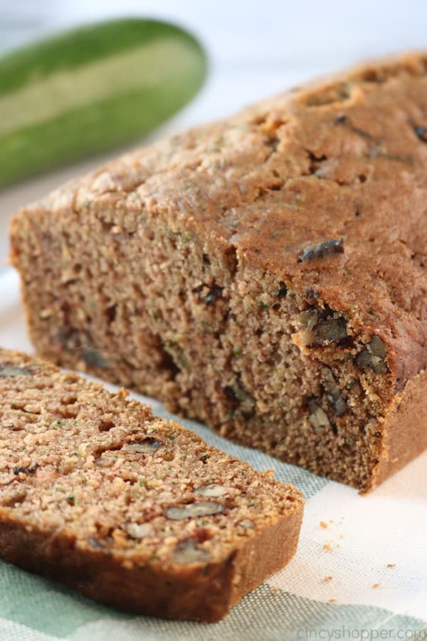 The Best Zucchini Bread.