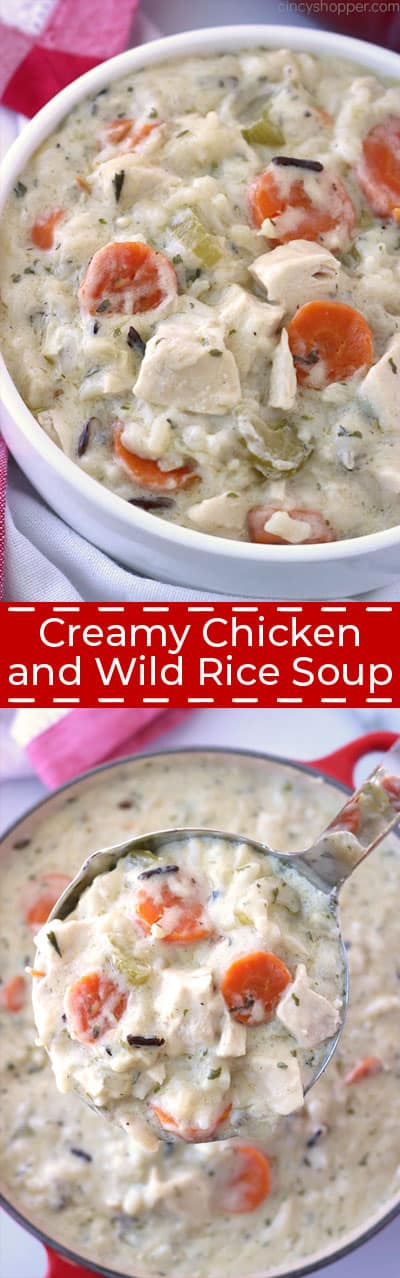 Creamy Chicken and Wild Rice Soup