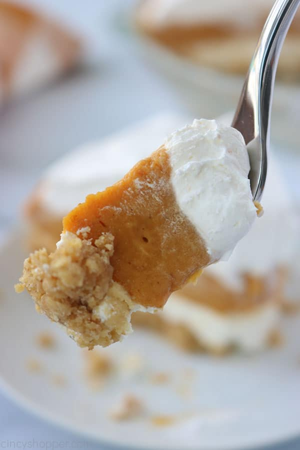Layer Pumpkin Pie