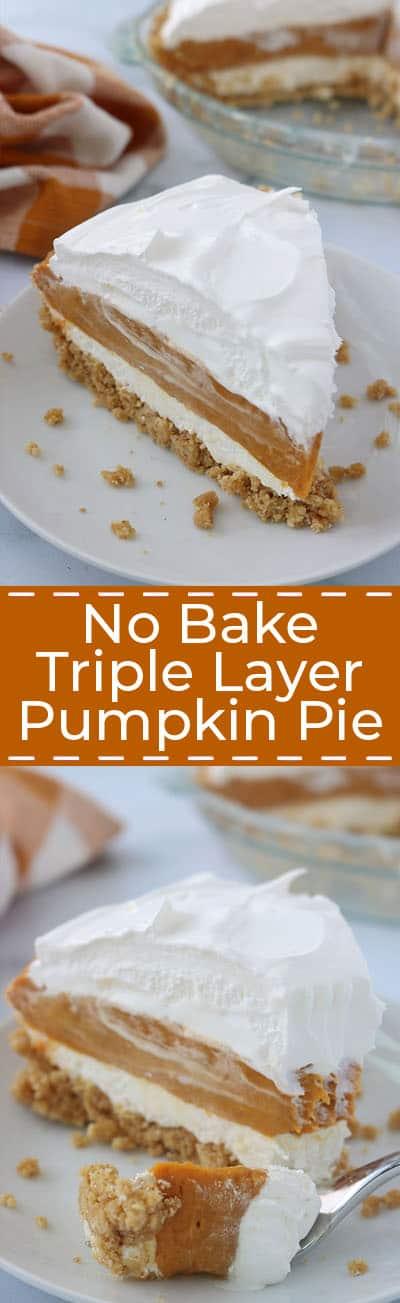 No Bake Layer Pumpkin Pie