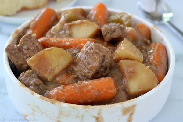 The Best Crockpot Beef Stew.