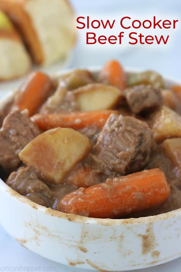 Slow Cooker Beef Stew Cincyshopper