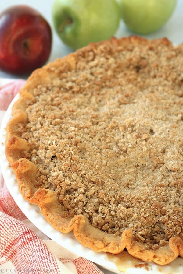 Dutch Apple Pie whole.