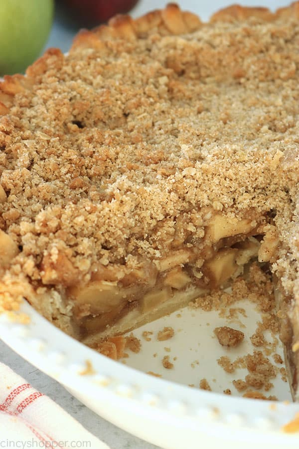 Homemade Dutch Apple Pie