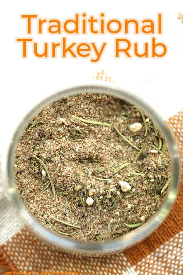 Easy Thanksgiving Turkey Rub