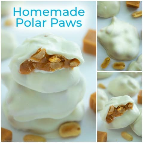 Homemade Polar Paws