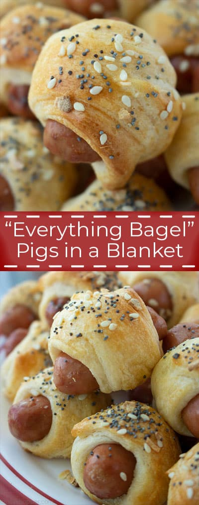 """Everything Bagel"" Pigs in a Blanket"