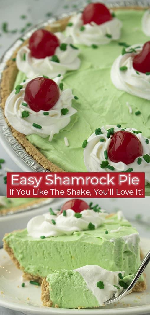 Easy Shamrock Pie collage