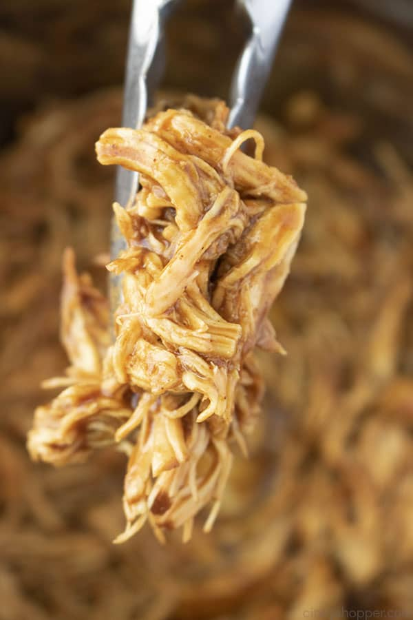 Tons with Instant Pot Shredded Chicken