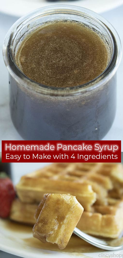 Long Pin with 4 Ingredient Syrup