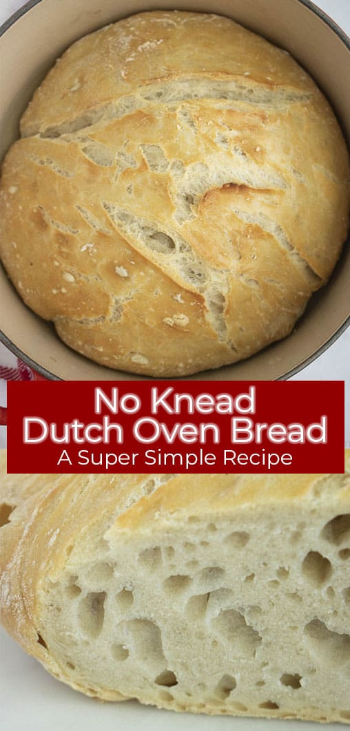 Long Pin image with text 4 Ingredient Basic Bread
