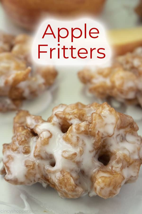 Text on image of Apple Fritters