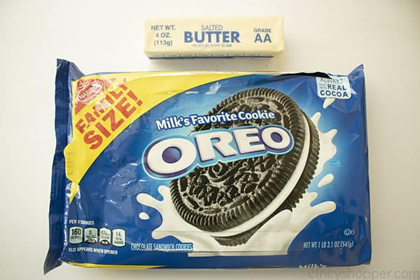 Oreo Cookie Crust ingredients