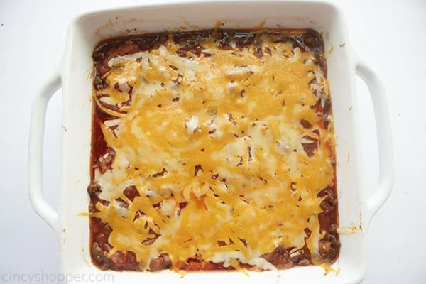 Baked taco Tuesday casserole