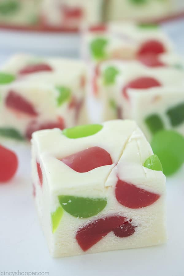 Gumdrop Nougat Candy pieces
