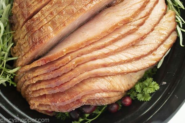 Gekochter Crock Pot Ham